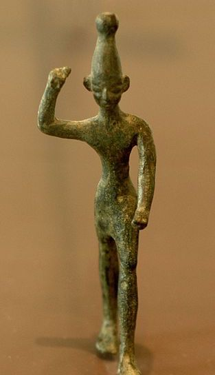 Ba'al figurine (c 12th century BC)
