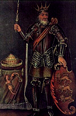 Depiction of Brian Boru
