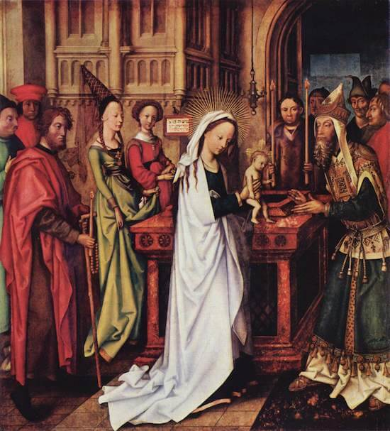 Presentation of Christ at the Temple by Hans Holbein the Elder (1501)