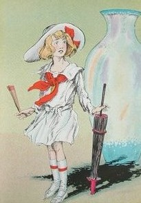 Depiction of Dorothy from the Wizard of Oz