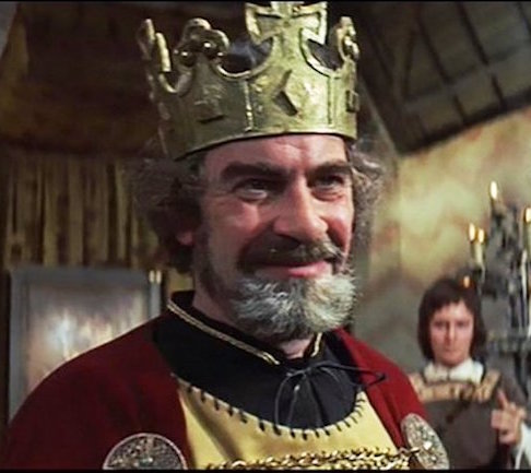King Duncan as portrayed by Nicholas Selby in a 1971 film