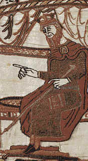 Edward the Confessor as shown on the Bayeaux Tapestry