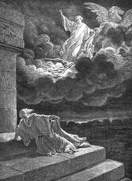 Elijah's Ascension by Gustave Doré (1865)