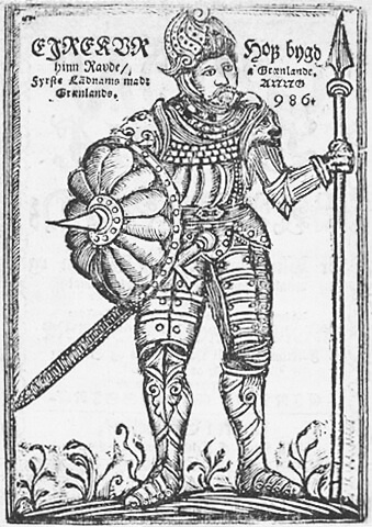 17th-century depiction of Eric the Red