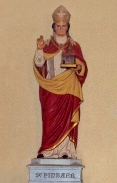 Saint Fionnbharr (or Finbarr) of Cork