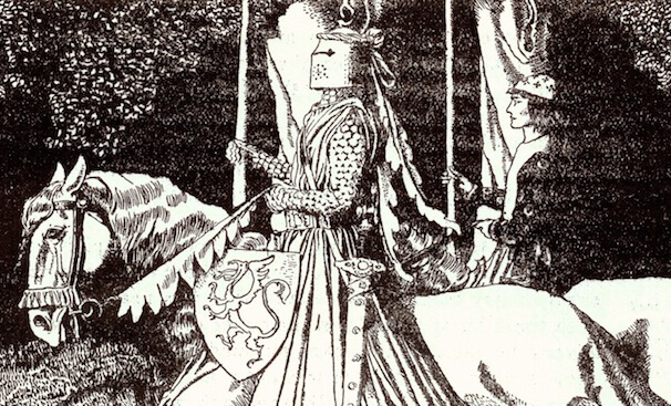 Depiction of Sir Gawain (1903)