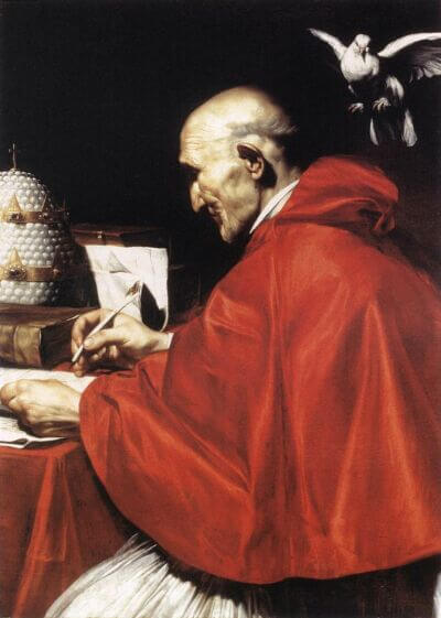 Pope Gregory the Great, by Carlo Saraceni (1610)
