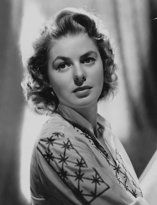 Ingrid Bergman in the 1940s