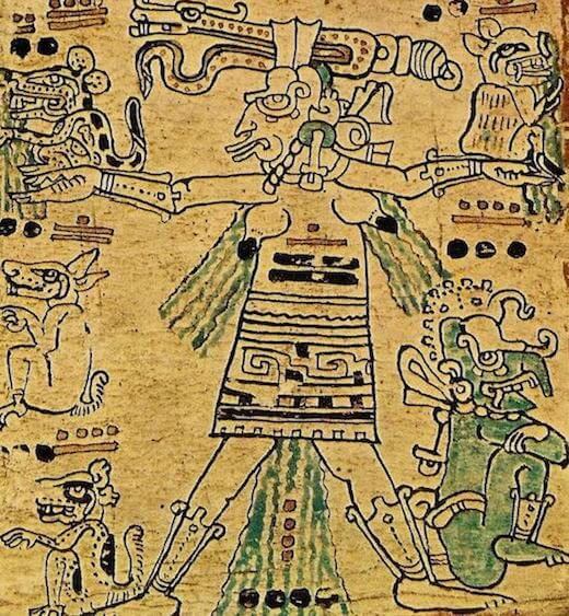 Ixchel from the Dresden Codex
