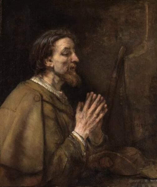 Saint James the Greater by Rembrandt (1661)