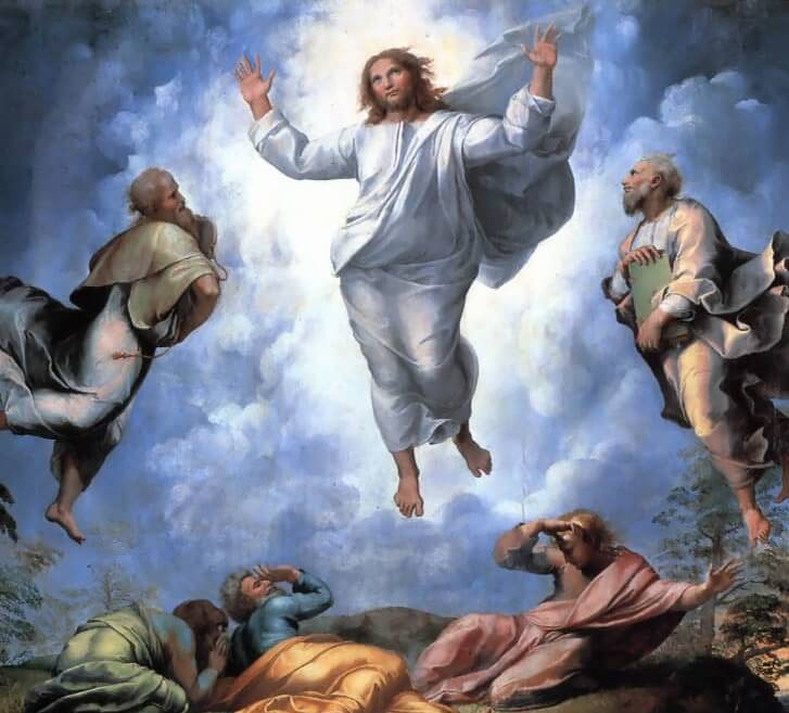 Detail of The Transfiguration by Raphael (1520)