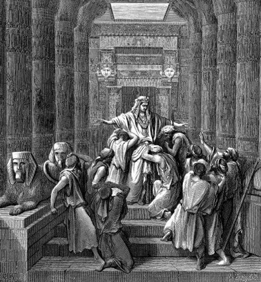 Joseph Makes Himself Known to His Brothers, by Gustave Doré (1866)