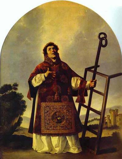 Depiction of Saint Laurence by Francisco de Zurbarán (1636)