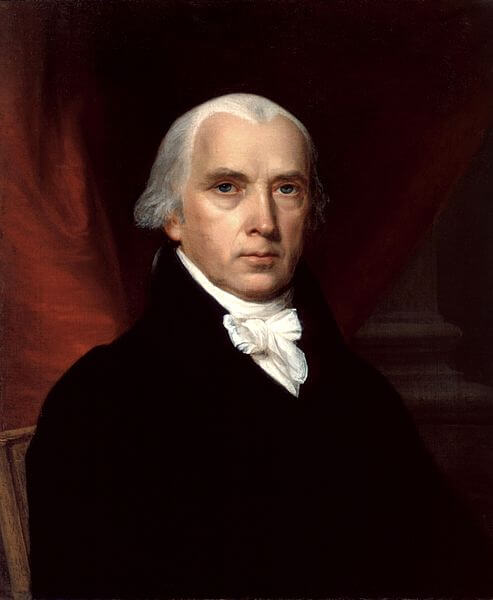 Portrait of James Madison (1816)