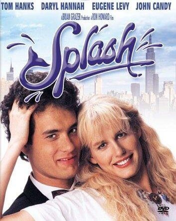 Allen and Madison from the movie Splash (1984)