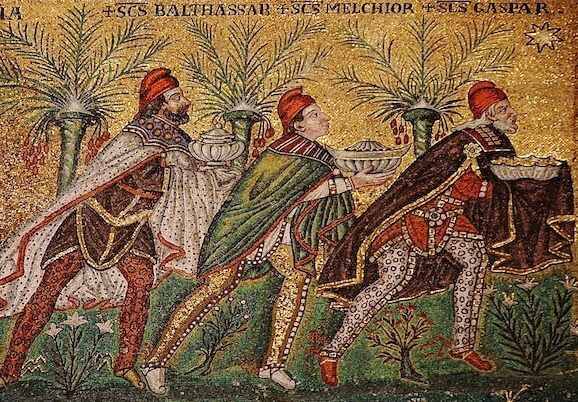 6th-century Byzantine depiction of the Magi