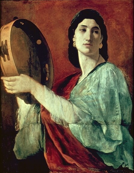 Painting of the biblical Miriam by Anselm Feuerbach (1862)