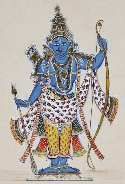 Painting of Rama (c. 1820)