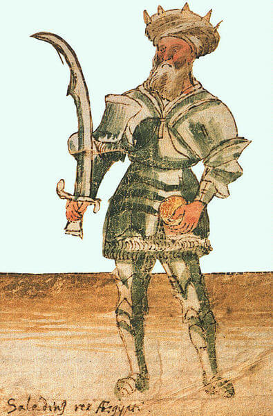 15th-century depiction of Saladin