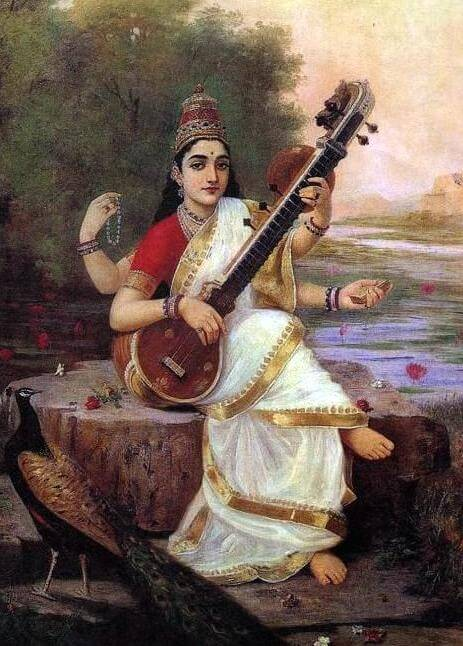 Meaning Origin And History Of The Name Saraswati Behind