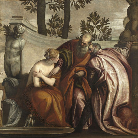 Susanna and the Elders by Veronese (1570)