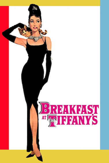 Movie poster for Breakfast at Tiffany's (1961)