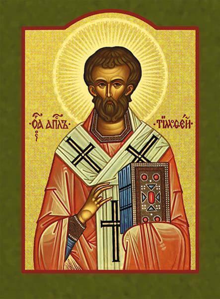 Icon depicting Saint Timothy