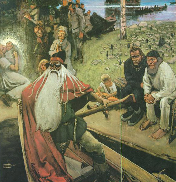 The Departure of Väinämöinen by Akseli Gallen-Kallela (1906)