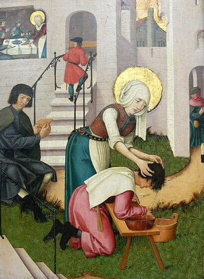 The Mercy of Saint Verena (1524)