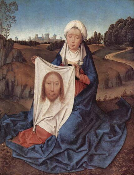 Depiction of Saint Veronica by Hans Memling (c. 1470)