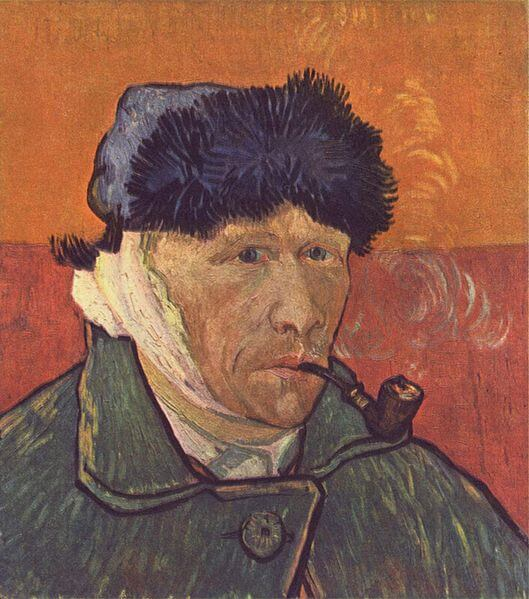 Vincent van Gogh self-portrait (1889)