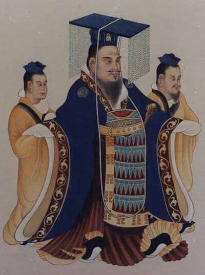 Traditional depiction of Emperor Wu of Han